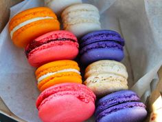 Macarons Engagement Rings Amelies French Bakery Charlotte NC
