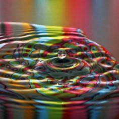 Color ripple by Joost Lagerweij, via 500px