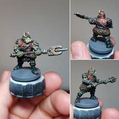 Gamorrean Guard from the Jabba's Realm expansion for Imperial Assault : minipainting