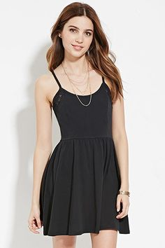 Lace-Trimmed Cami Dress | Forever 21 - 2000203865