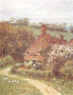 Helen Allingham ~ Under Hindhead, Surrey