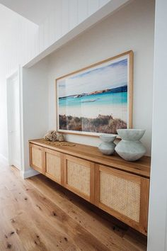Nadire Atas on Living by the Sea Kyal and Kara's Central Coast Australia home renovation - getinmyhome Coastal Living Rooms, Living Room Decor, Coastal Cottage, Dining Room, Cottage Living, Coastal Homes, Home Interior, Interior Design, Interior Doors