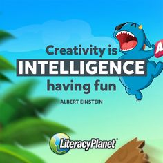 Engaging and interactive online English literacy education program for young learners of all ages. Thousands of exercises to cover all literacy skill areas. Literacy Quotes, Literacy Skills, Albert Einstein, Have Fun, Inspirational Quotes, Education, Creative, Life Coach Quotes, Inspiring Quotes