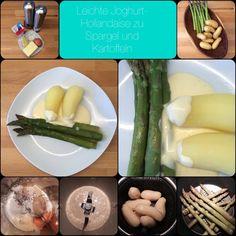 Leichte Joghurt-Hollandaise4 Portionen125 g Butter125 g Joghurt, gerne 1,5 % Fett1 Ei1 ELSenf1 EL Zitronensaft2 Prisen Salz1 Prise Pfeffer&nbsp...