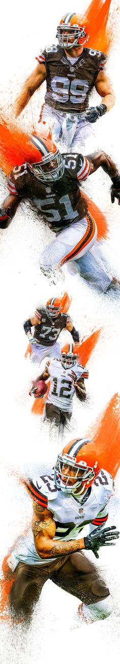 Player treatment for the 2014 Cleveland Browns Season.