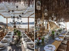 Vintage Books & Keys Wedding @ Alemagou Mykonos