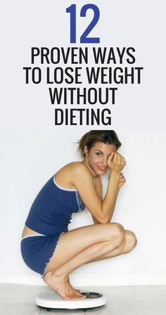 Lose weight without going through the pains of dieting.