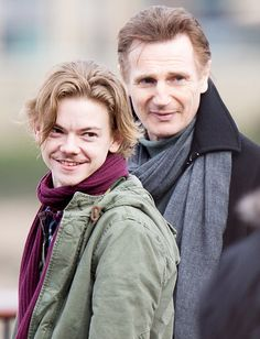 Thomas Brodie-Sangster Liam Neeson Love Actually