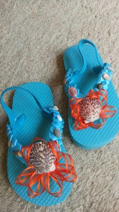 0f674349c 7 Best Flip flops and hair bows I made. images