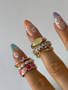 Nail Swag, Nail Jewelry, Cute Jewelry, Jewlery, Nagellack Design, Acylic Nails, Accesorios Casual, Funky Nails, Fire Nails
