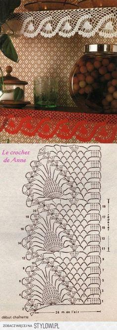 Crochet / lace edge Más