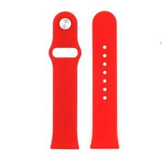 Silicone Wrist Band for Apple Watch 42mm- Red