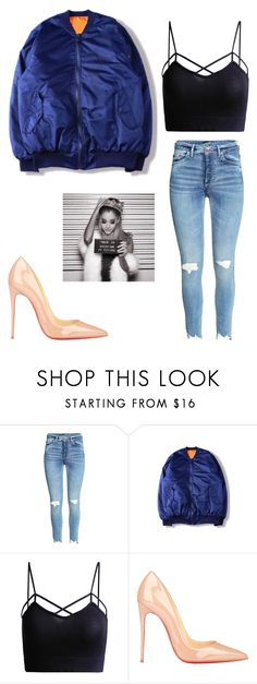 Ariana Grande Everyday Get The Look by jesysminn on Polyvore featuring WithChic, Christian Louboutin, GetTheLook, ArianaGrande and everyday on the lookout for limited offer,no duty and free shipping.#shoes #womenstyle #heels #womenheels #womenshoes  #fashionheels #redheels #louboutin #louboutinheels #christanlouboutinshoes #louboutinworld