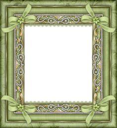 Green Transparent Frame
