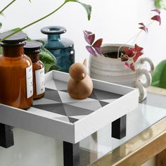 DIY: fabriquer un vide poche carreau de ciment