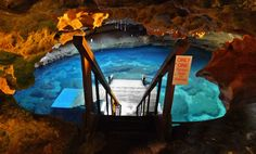Devil's Den 1 hour and 31 minutes from Orlando  Things to do: Get more underground than you already are at Devil's Den. These springs are famous in viral FB videos you've probably seen shared by now because of how rad they are. The 33 million-year-old fossil beds are something to brag about after you've scuba or snorkeled around them.   Photo via devilsden.com