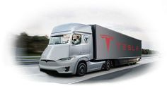 El próximo objetivo de Tesla: Un camión 100% eléctrico.