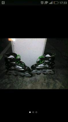 . patines rollers Blade solo puesto dos veces es una talla 43 . 44