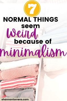7 normal things I use to do now seem weird since becoming minimalist. Becoming Minimalist, Minimalist Kids, Minimalist Lifestyle, Minimal Living, Simple Living, Get My First Job, Singles Events, Declutter Your Home, Wasting Time