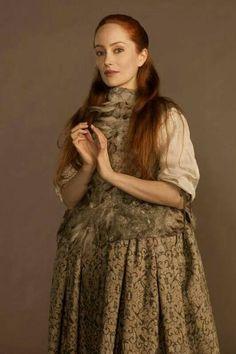 Gellis Duncan in her monkey vest costume