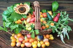 Garden Harvest...July 21, 2015  http://gardenanywherebox.com/
