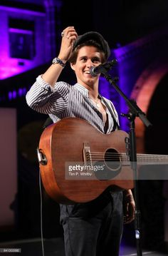 Bradley Simpson of The Vamps performs during the London Autumn Season launch at the Natural History Museum on August 31, 2017 in London, England.