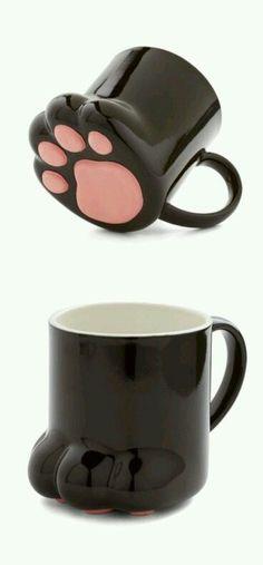 #pink #paw #mug
