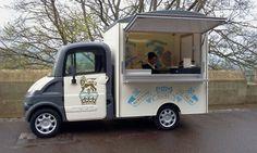 Ice Cream food truck Windsor Castle.