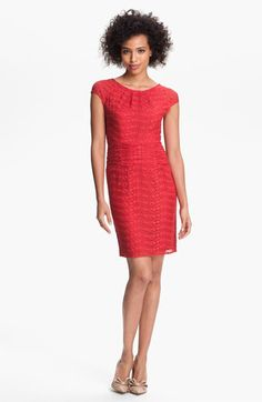 Marc New York by Andrew Marc Lace Sheath Dress available at Nordstrom