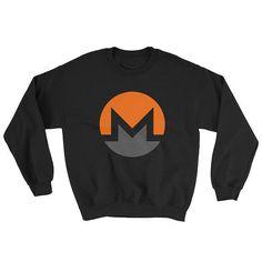 XMR Monero Crypto-currency Digital Coin Sweatshirt BTC Bitcoin