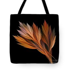 "Wispy Tones of Autumn Tote Bag 18"" x 18"""