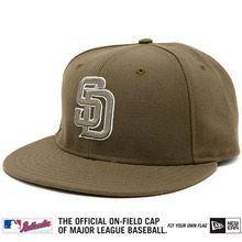 San Diego Padres Authentic Alternate Performance 59FIFTY On-Field Cap San  Diego Padres 23ad56b3e497