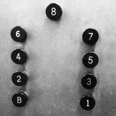 Traditional elevator buttons #adornebylegrand