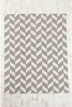 Herringbone rug from Urban Outfitters. I have been wanting this rug for my living room for a long time!
