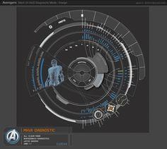 UI Design for the Avengers by Jayse由 Jayse 復仇者的使用者介面設計