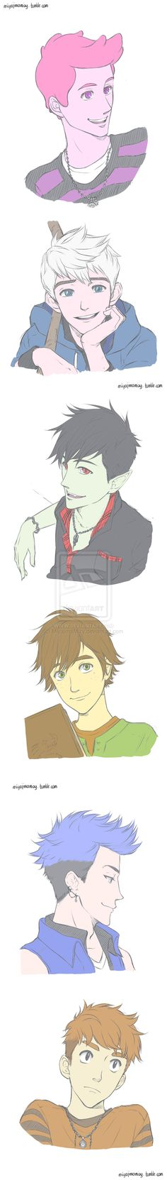 My favourite boys by MiyajimaMizy.deviantart.com on @deviantART