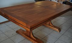 Handcrafted Farmhouse Dining Room Table With Or Without Benches - Solid Wood…