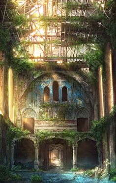 Abandoned places. Sad but beautiful pictures.