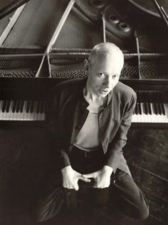 English musician and composer Joe Jackson.he is an immensly talented recording artist.his night and day album is one of my personal favorites.i love just about every song on it!