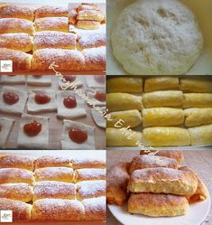 Pastry Recipes, Cooking Recipes, Bread And Pastries, French Toast, Food And Drink, Breakfast, Cakes, God, Brioche Bread