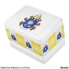Papal Coat of Arms Cooler