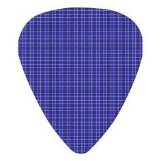 Blue Designed Guitar Pick
