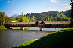 The wooden bridge in Dolný Kubín, Orava, in Northern Slovakia.  The photo was taken by the photographer, Verity Graham, and I read somewhere that this is actually the longest bridge made of wood in Central Europe.