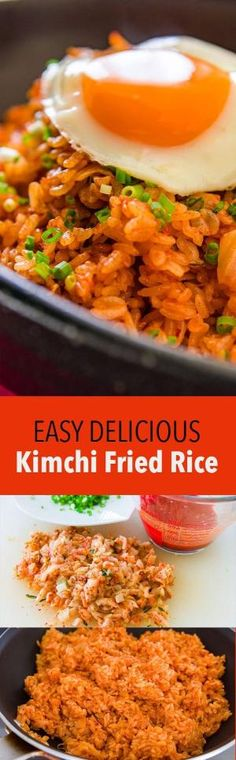 Kimchi bokkeumbap (볶음밥), is ridiculously easy to make and delicious. Here are my tips for making the best kimchi fried rice. by eunice