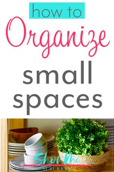 Have a closet, drawer, or cabinet in your home that's always disorganized? Learn how to get and keep small spaces organized in just a few steps. These easy tips are great for organizing the closet, bathroom, or kitchen. Small Space Organization, Office Organization, Bathroom Organization, Declutter Your Home, Organizer, Decoration, Small Spaces, Drawers, Cabinet