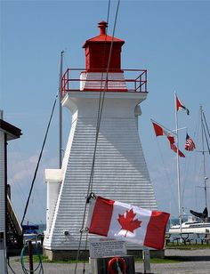 Niagara River Front Range Light, Niagara-on-the-Lake, Ontario, Canada by bobindrums