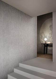Wall&Deco Essential Wallpaper _ Carta da parati materica _ minimal _ disponibile da Spazio Materiae Napoli www.spaziomateriae.com
