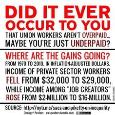 Union workers aren't overpaid - maybe you're underpaid