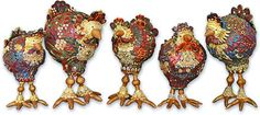New Jersey Chickens – Polymer Clay Daily