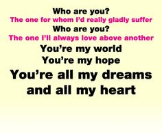 Who Are You lyrics Carrie Underwood Love this song!